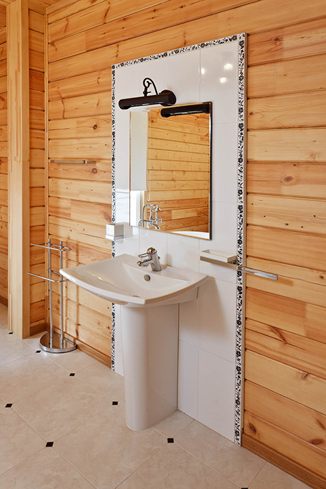 Загородный дом. ванная из проекта , фото №29312