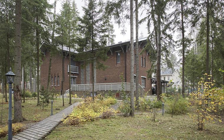 Загородный дом. фасад из проекта , фото №29319