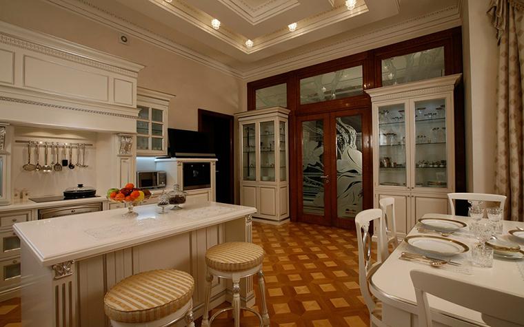 Загородный дом. кухня из проекта , фото №29369