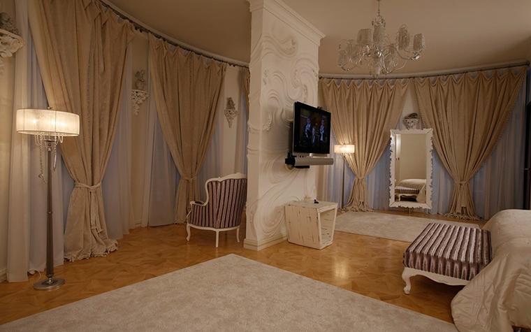 Загородный дом. спальня из проекта , фото №29371