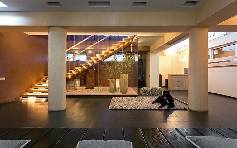 Загородный дом. холл из проекта , фото №29437