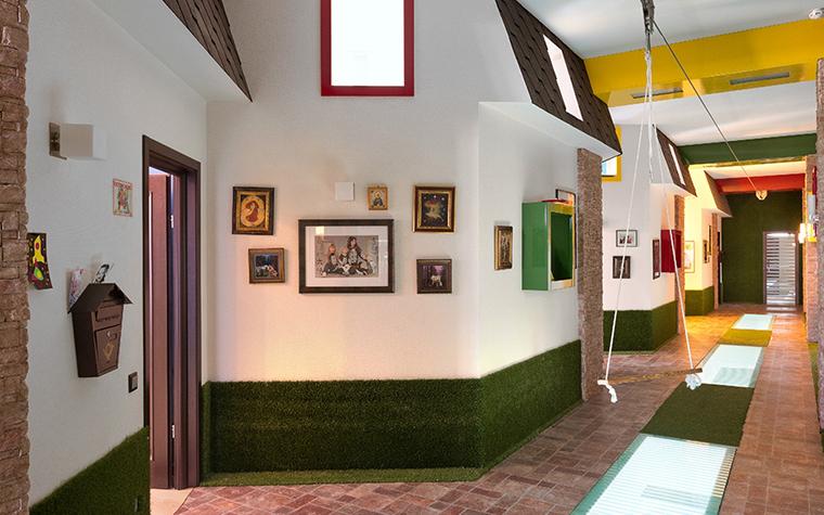 Загородный дом. холл из проекта , фото №29444