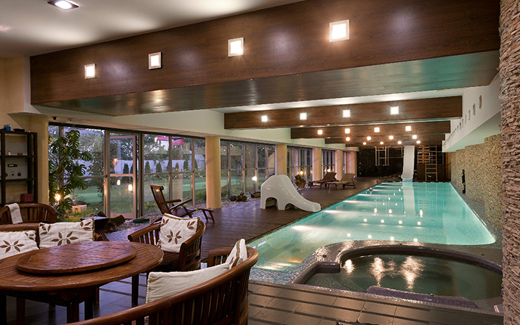 Загородный дом. бассейн из проекта , фото №29436