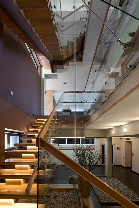 Загородный дом. холл из проекта , фото №29438