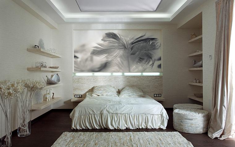 Загородный дом. спальня из проекта , фото №29431