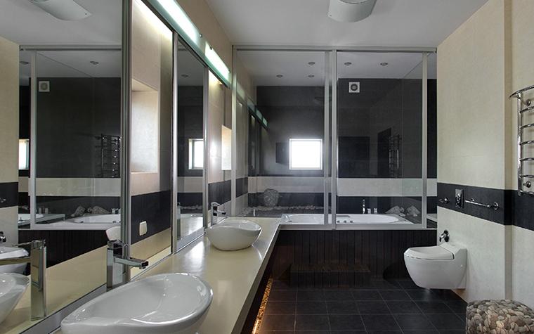 Загородный дом. ванная из проекта , фото №29435