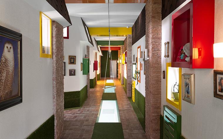 Загородный дом. холл из проекта , фото №29443