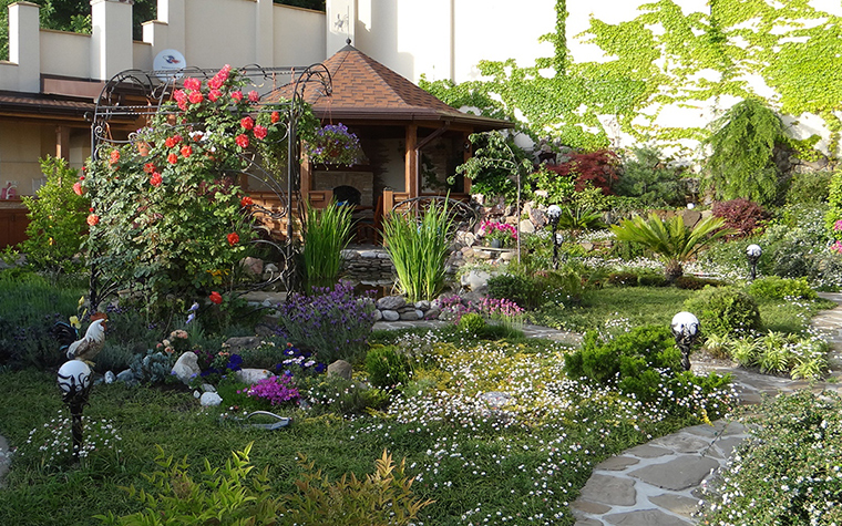 Загородный дом. участок из проекта , фото №29594