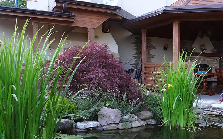 Загородный дом. водоем из проекта , фото №29589
