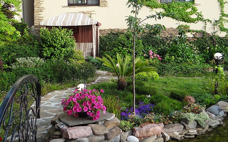 Загородный дом. участок из проекта , фото №29595