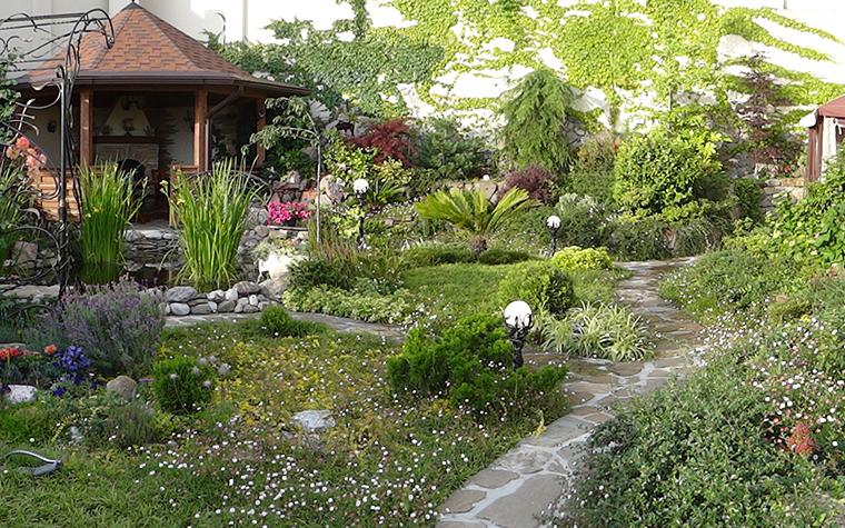 Загородный дом. дорожка из проекта , фото №29592