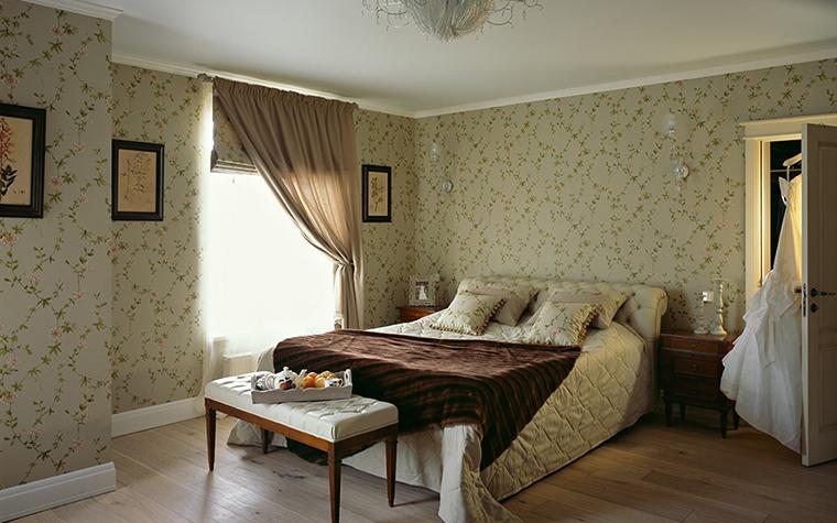 Загородный дом. спальня из проекта , фото №29680