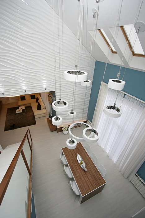 Загородный дом. столовая из проекта , фото №29747