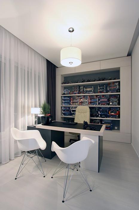интерьер кабинета - фото № 29736