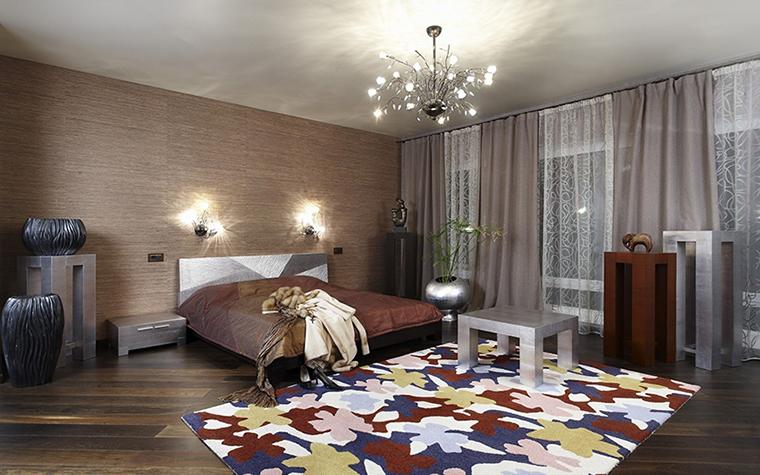 Фото № 29756 спальня  Загородный дом