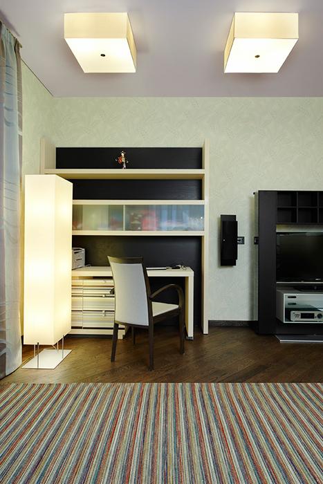 Фото № 29770 спальня  Загородный дом