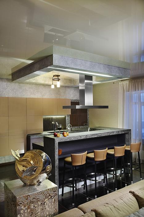 Фото № 29752 кухня  Загородный дом