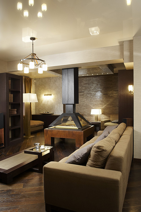 интерьер гостиной - фото № 29751