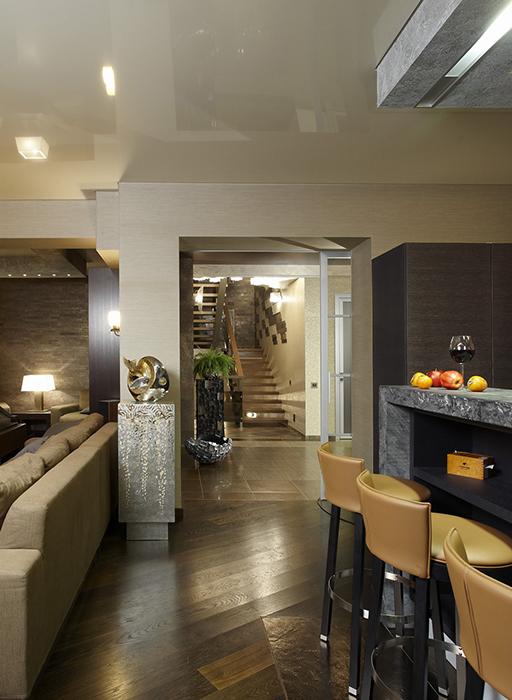интерьер гостиной - фото № 29793