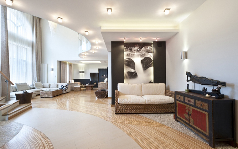 интерьер гостиной - фото № 29760