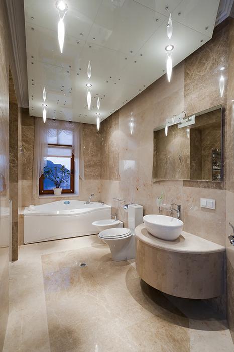 Загородный дом. ванная из проекта , фото №29807