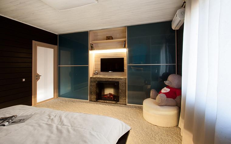 Фото № 29852 спальня  Загородный дом