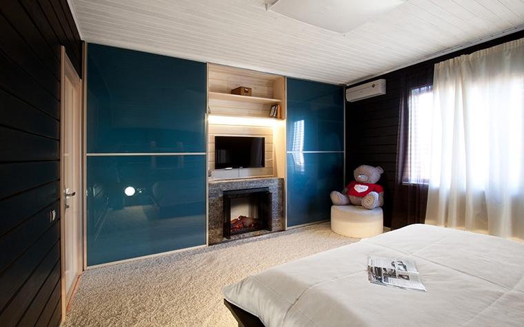 Фото № 29853 спальня  Загородный дом