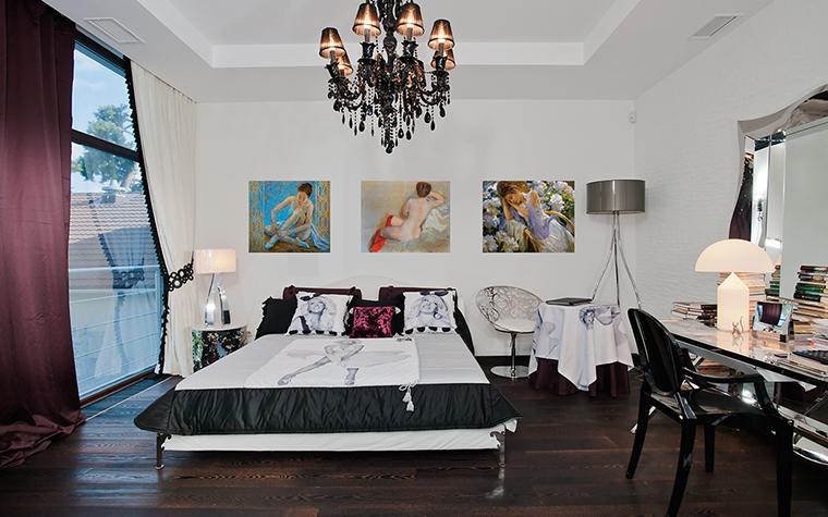 интерьер спальни - фото № 30286