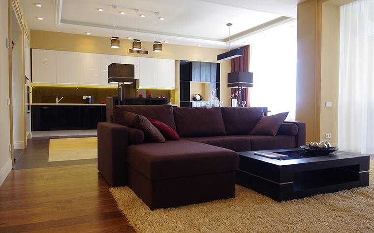 Фото № 30346 гостиная  Загородный дом