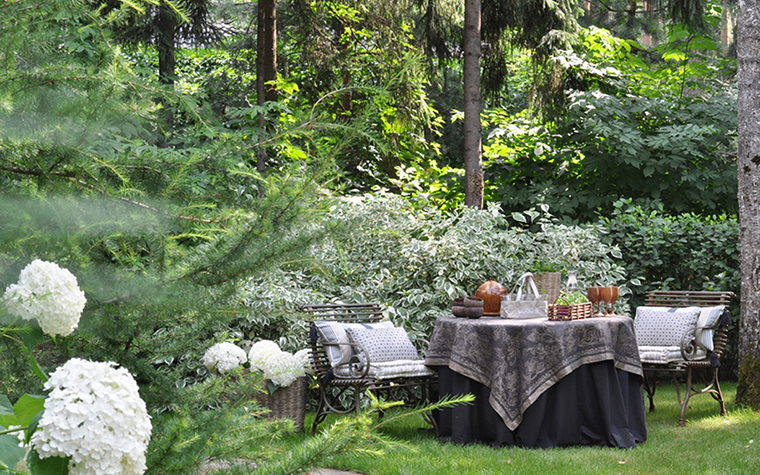 Загородный дом. участок из проекта , фото №30374