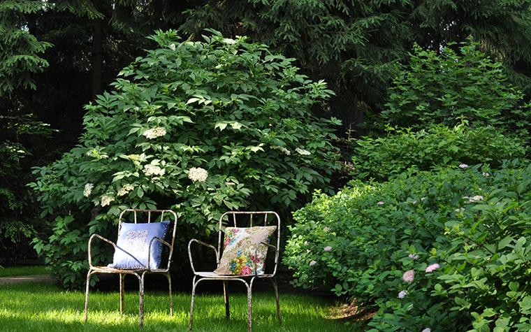 Загородный дом. участок из проекта , фото №30362