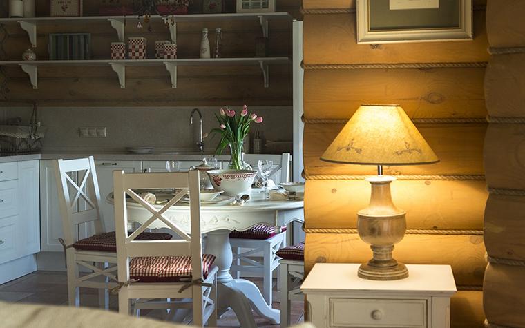 Фото № 30431 кухня  Загородный дом