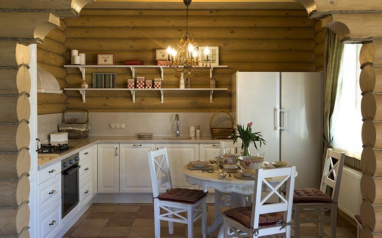 Фото № 30432 кухня  Загородный дом