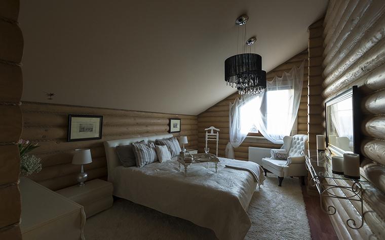 Фото № 30415 спальня  Загородный дом