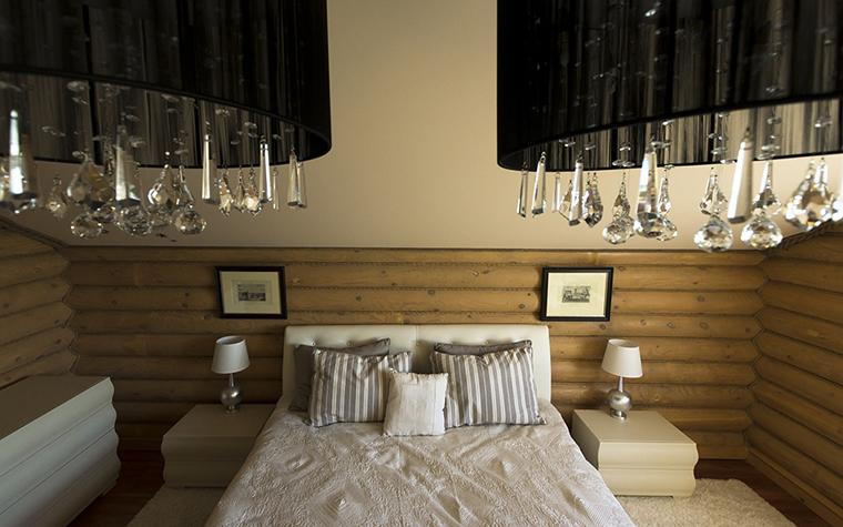 Фото № 30420 спальня  Загородный дом