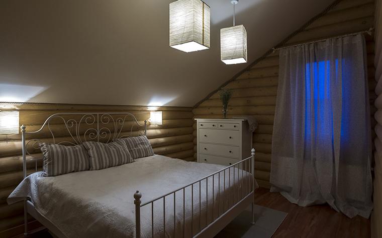 Фото № 30422 спальня  Загородный дом