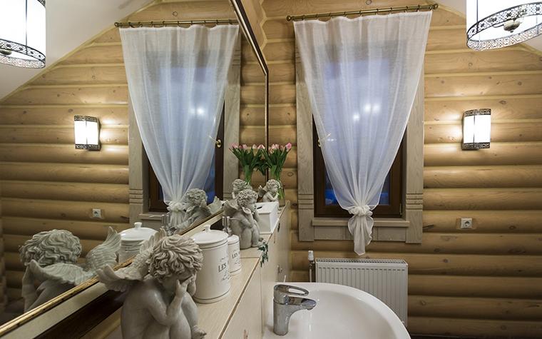 Фото № 30435 ванная  Загородный дом
