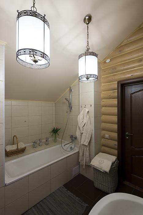 Фото № 30436 ванная  Загородный дом