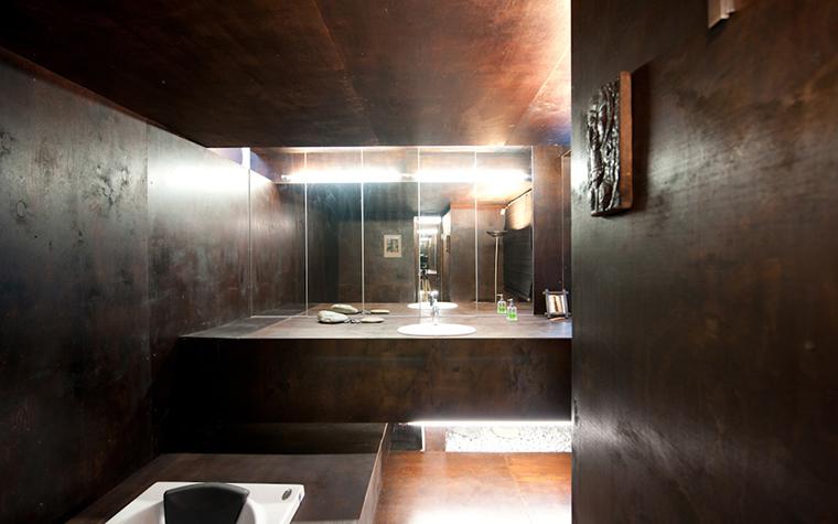 Загородный дом. ванная из проекта , фото №38285