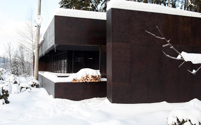 Загородный дом. фасад из проекта , фото №38290