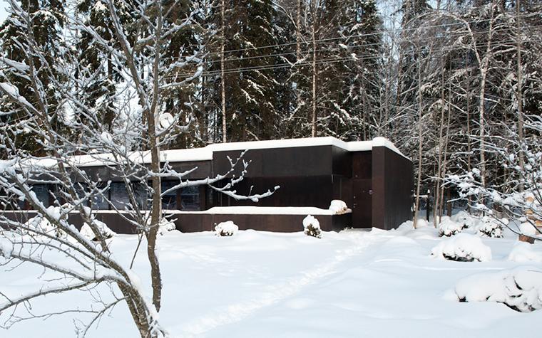 Загородный дом. фасад из проекта , фото №38294