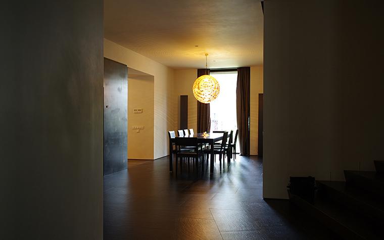 Загородный дом. столовая из проекта , фото №36582