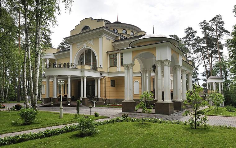 Загородный дом. фасад из проекта , фото №30746