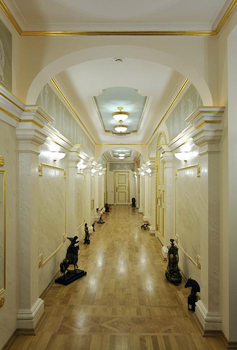 Загородный дом. холл из проекта , фото №30775