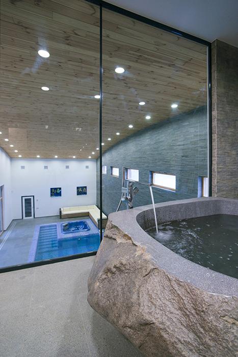 Загородный дом. ванная из проекта , фото №32612