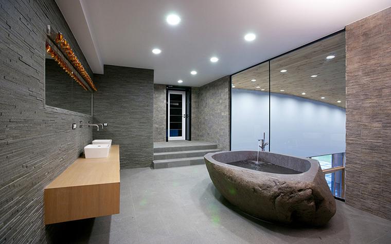 Загородный дом. ванная из проекта , фото №32613