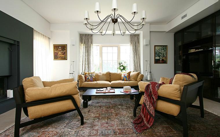 интерьер гостиной - фото № 31172