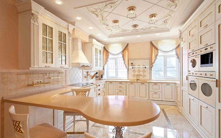Фото № 31205 кухня  Загородный дом