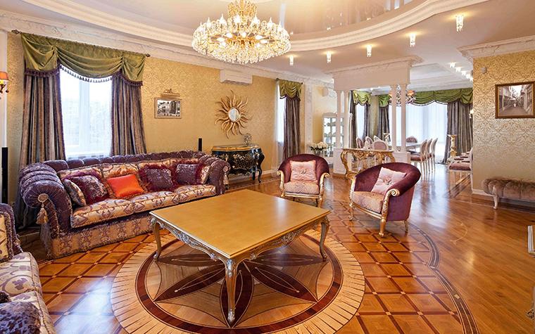 интерьер гостиной - фото № 31206