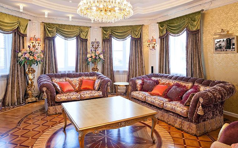 интерьер гостиной - фото № 31207